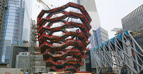 A New Kind of Public Landmark: 'Vessel' Tops Out in Hudson Yards