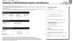 New OSHA Requirements for Recordkeeping and Reporting Injury and Illness