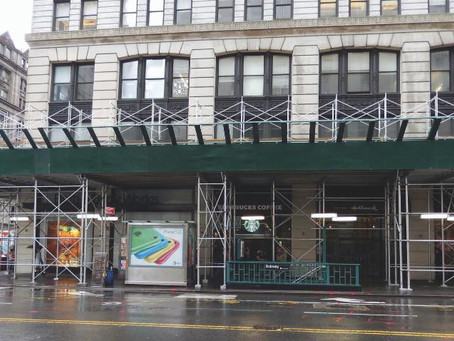 NYC Council: Sidewalk Shed Legislation