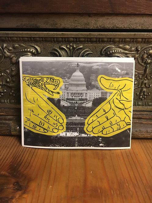 Doomsayer - Inaugural  Sticker - Small Hands Small Crowd