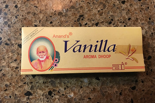 Anand's Vanilla Dhoop