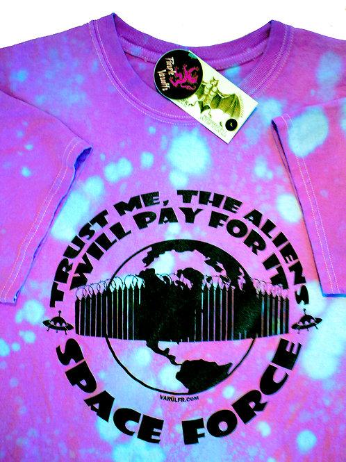 Varulfr T-Shirt x Space Force x Nebula Drop Dye