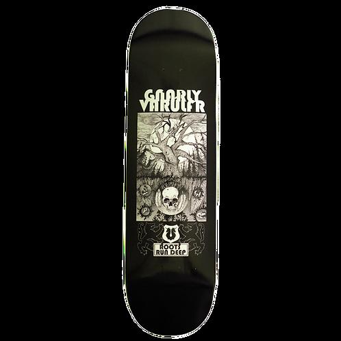 "Varulfr Skate - Gnarly Varulfr - ""Roots Run Deep"" Deck"