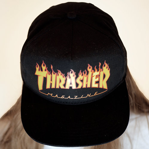 Thrasher Flame Logo Snapback