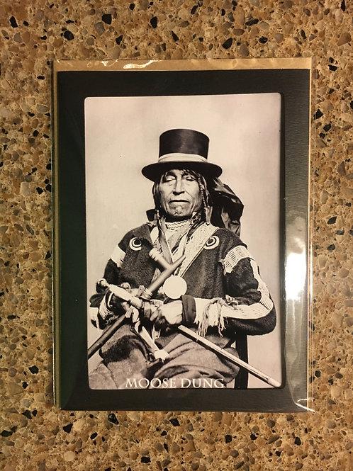 Moose Dung Photo Card