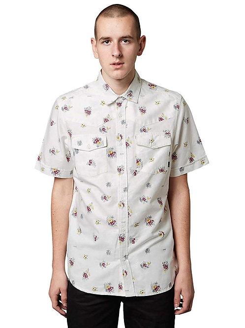 Altamont Chelsea Short Sleeve Woven Shirt - White