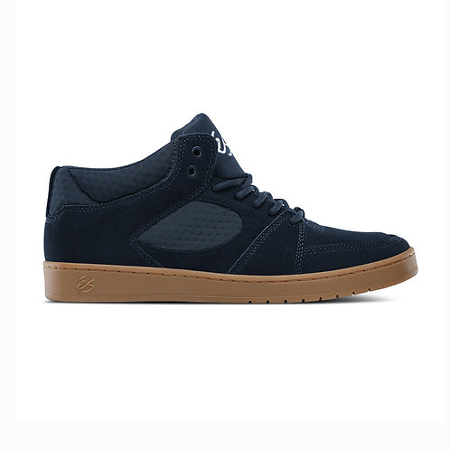ACCEL SLIM MID Triple Stitch   NAVY/GUM