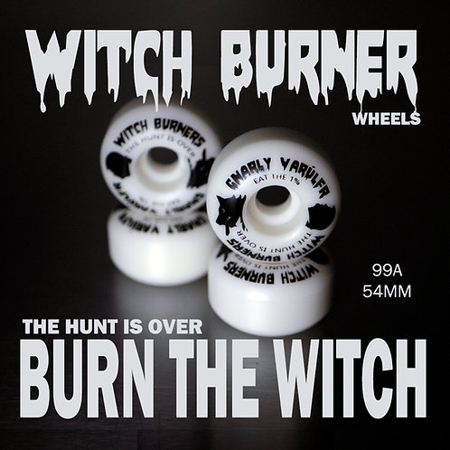 Gnarly Varulfr - Witch Burners - 53mm 99a Wheels