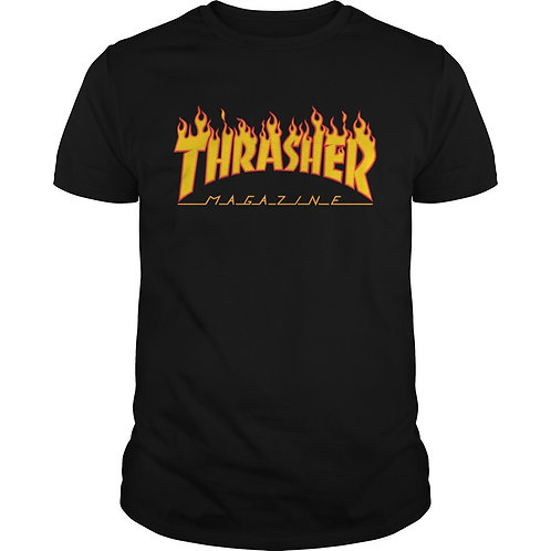 Thrasher T-Shirt -  Flame Logo