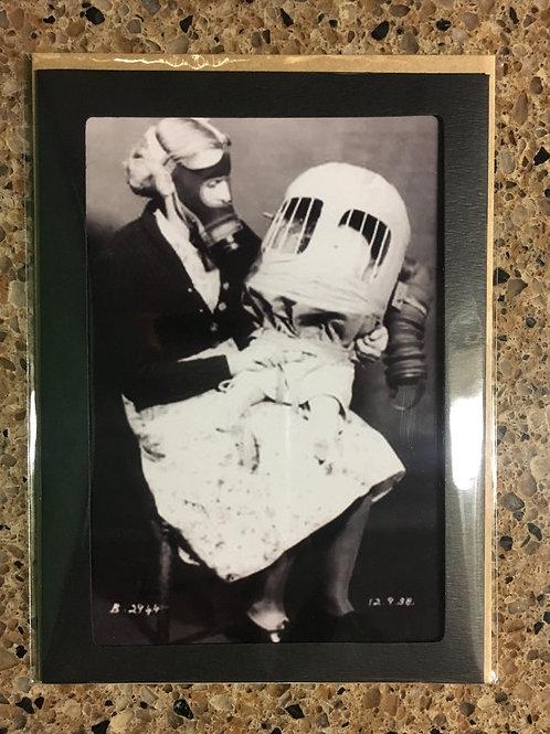 Baby Safe 5x7 photo card