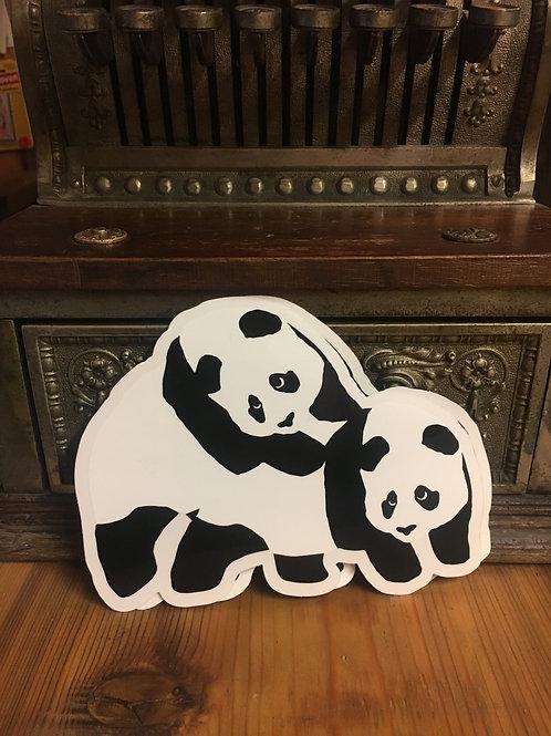Enjoi - Panda on Panda Sticker
