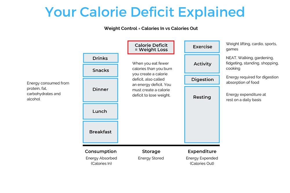 An explanation of calories in and calories out