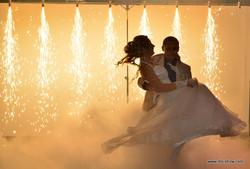 свадебный танец спецэффекты