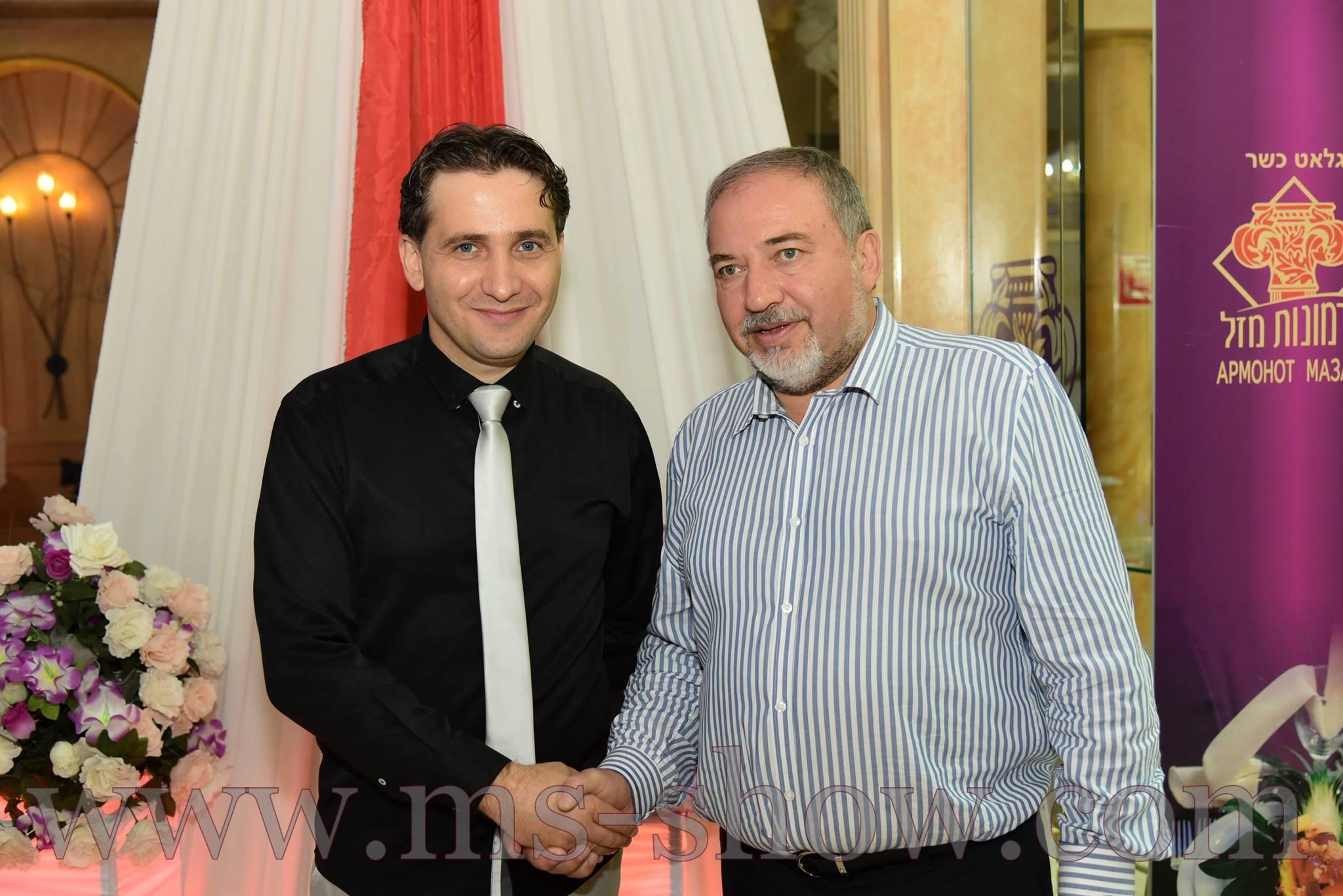 מיסטרי הפקות אביגדור ליברמן בחתונה