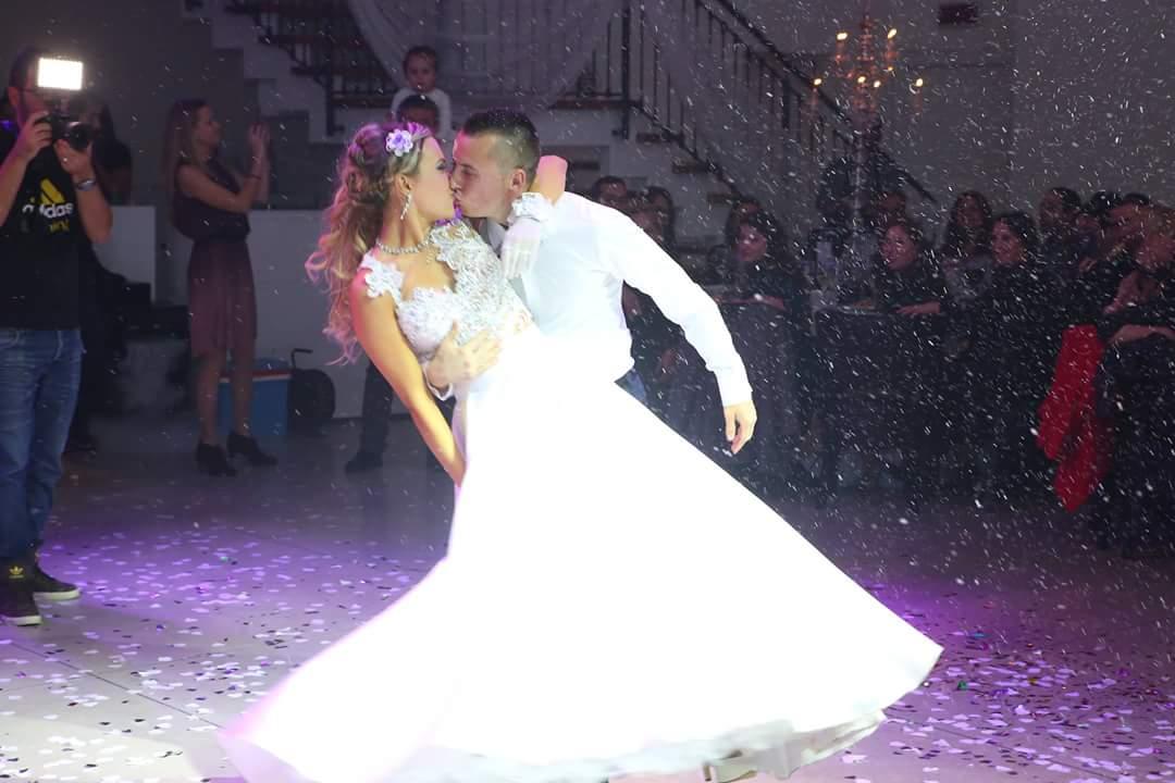 שלג לבן ריקוד חתן כלה 2016