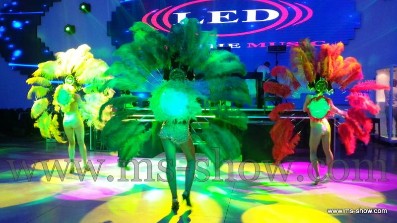 רקדניות ברזילאיות לאירועים
