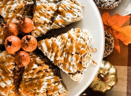 Pumpkin Cinnamon Scones