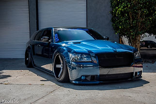 Dodge magnum ful car vinyl wrap