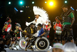 London 2012 Paralympics Cerermony