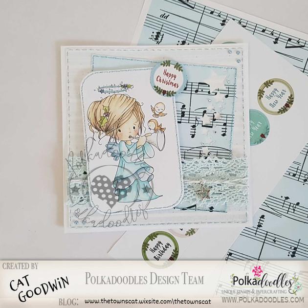 Christmas Card- Polkadoodles - Tweet Sounds