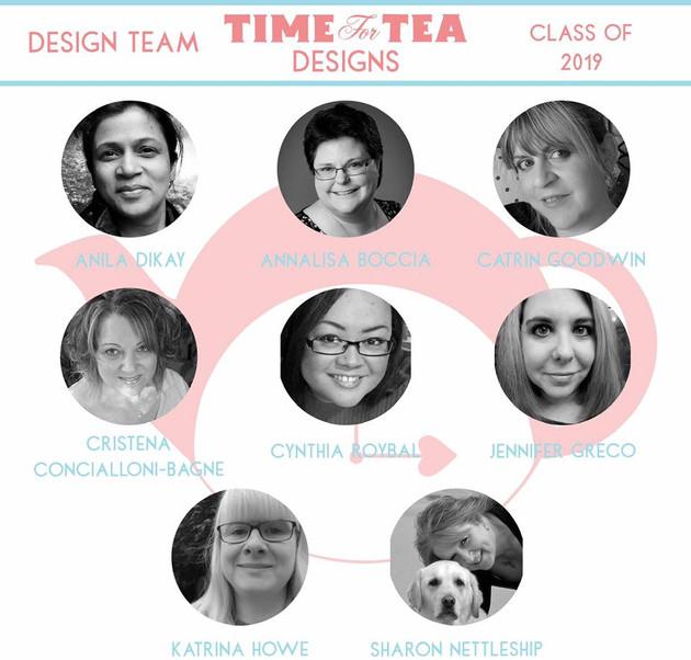 Official DT announcement Time for Tea Design