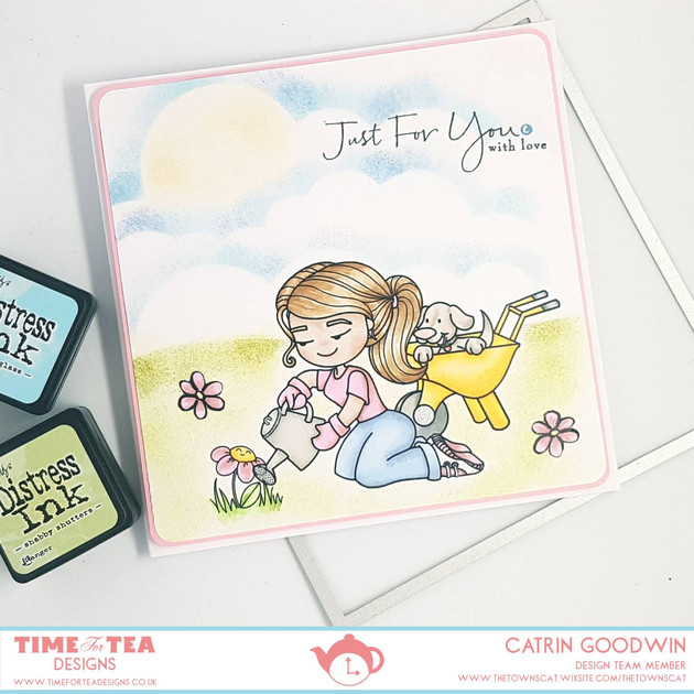 Time for Tea Design - Gardening Emily and Ernie