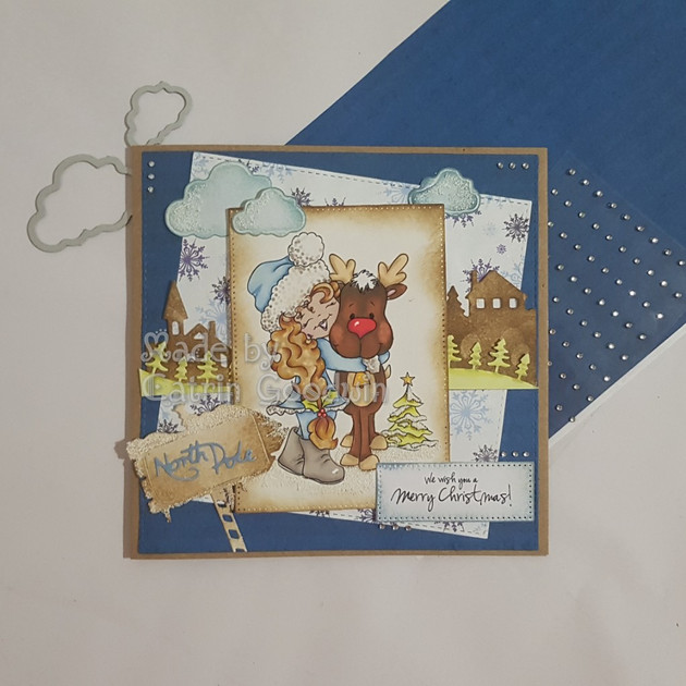Digi Doodle Studio - Holly's Reindeer Hugs