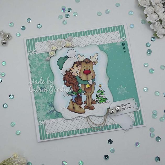Holly's Reindeer Hugs - DDS