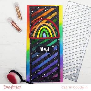 Rainbow Shaker Card- T4TD