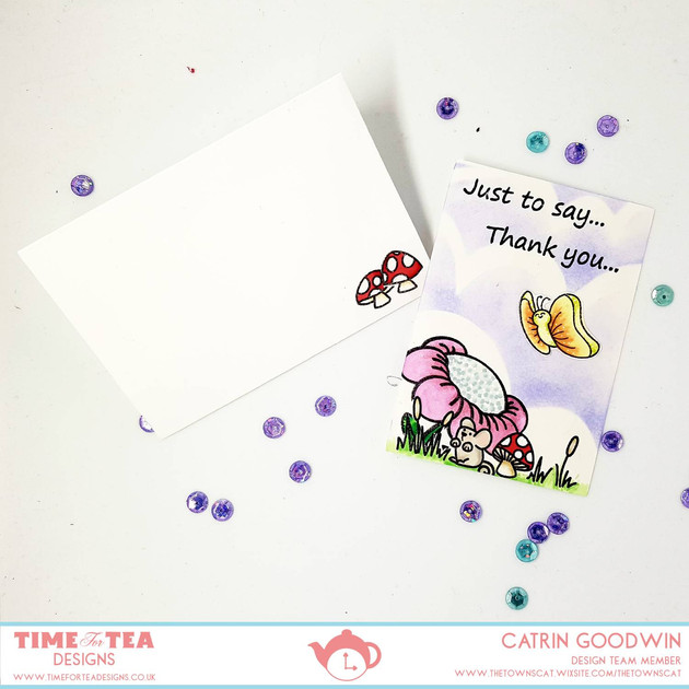 Time for Tea Design - Notelet