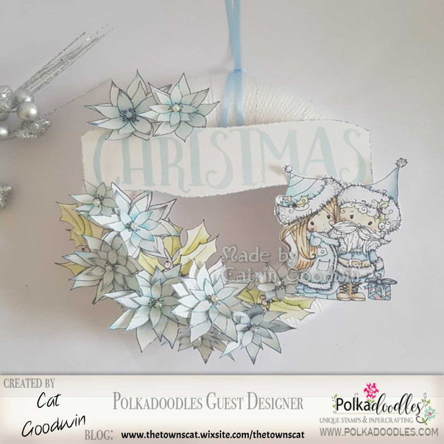 Polkadoodle Christmas Wreath