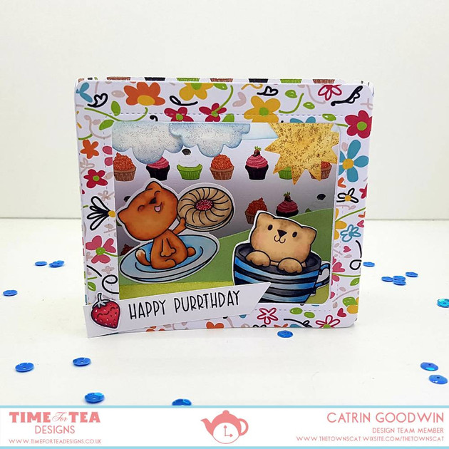 Always Time for Tea - Box Clever - T4TD