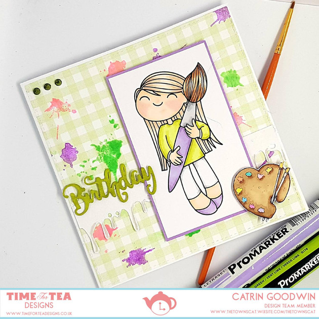 Time for Tea Designs - Painter Bonnie