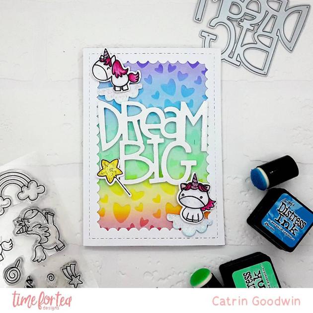 Unicorn Dream Big- T4TD