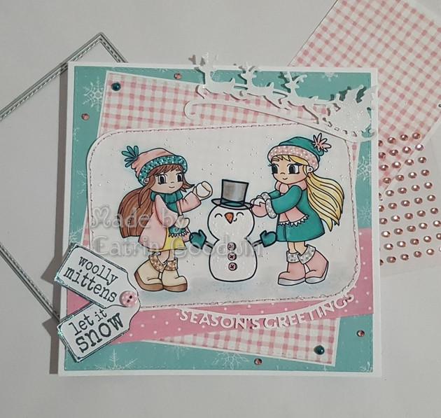 Time for Tea Design Christmas Card