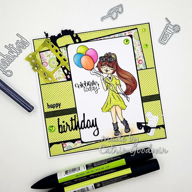 Digi Doodle Studio Birthday Freebie