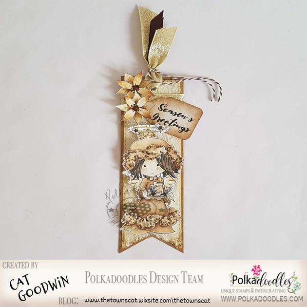 Polkadoodle Crafting Challenge #50 - Tag your It!
