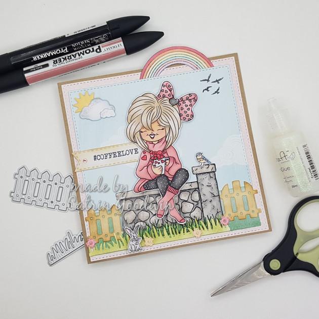 Cup of Hearts - Digi Doodle Studio