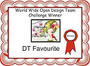 DT Favourite Winner Certificate World Wi