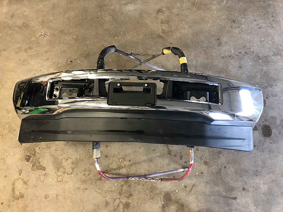 17-Current Ford F-250/350 Front Chrome Bumper