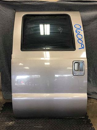 08-10 Ford F-250/350 CC Driver Rear Door (06009)