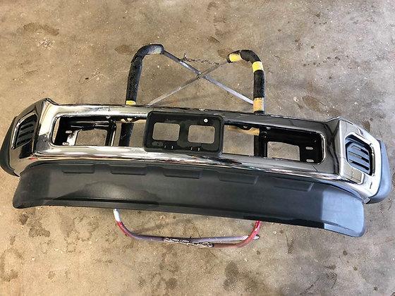 11-16 Ford F-450/550 Chrome Front Bumper Blk