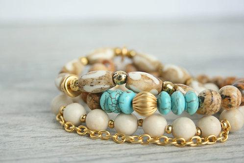 Kai Beaded Bracelet Set