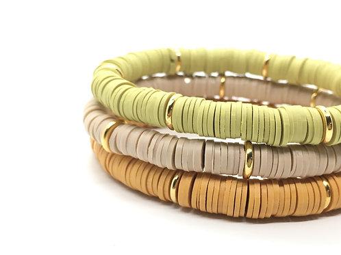 Amara African Vinyl Stretch Bracelet