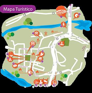 Mapa Turistico Trujillo Alto