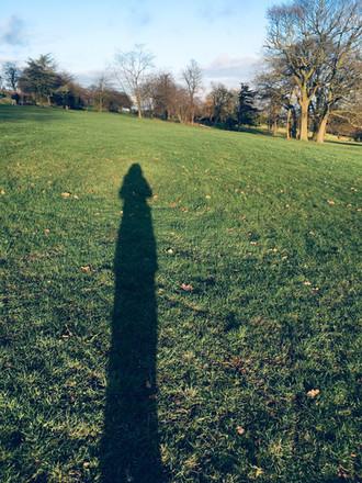 Shadows of Alexandra Palace
