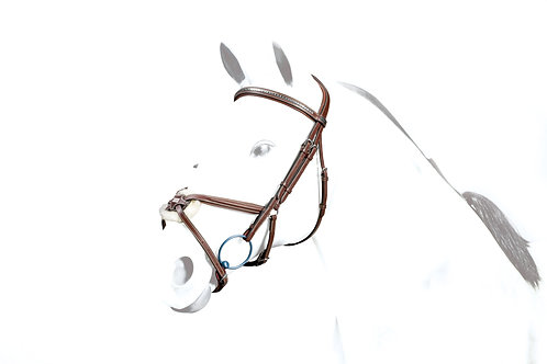 Grakle Bridle, Clinchered Browband
