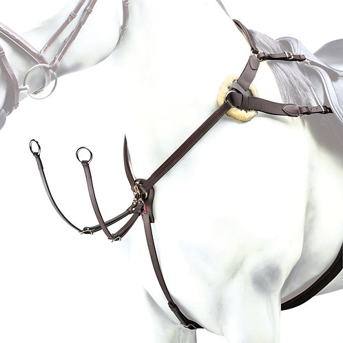 Event Leather and Elastic Breastplate BP12
