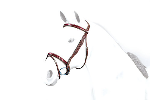 Patent-Leather Flash Bridle