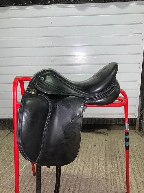 """16"""" Prestige Pony Dressage Saddle"""